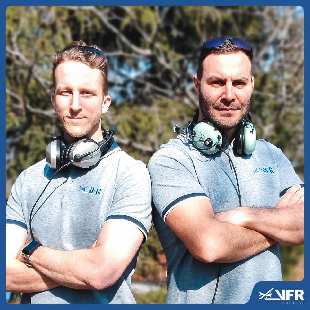 VFR English instructors