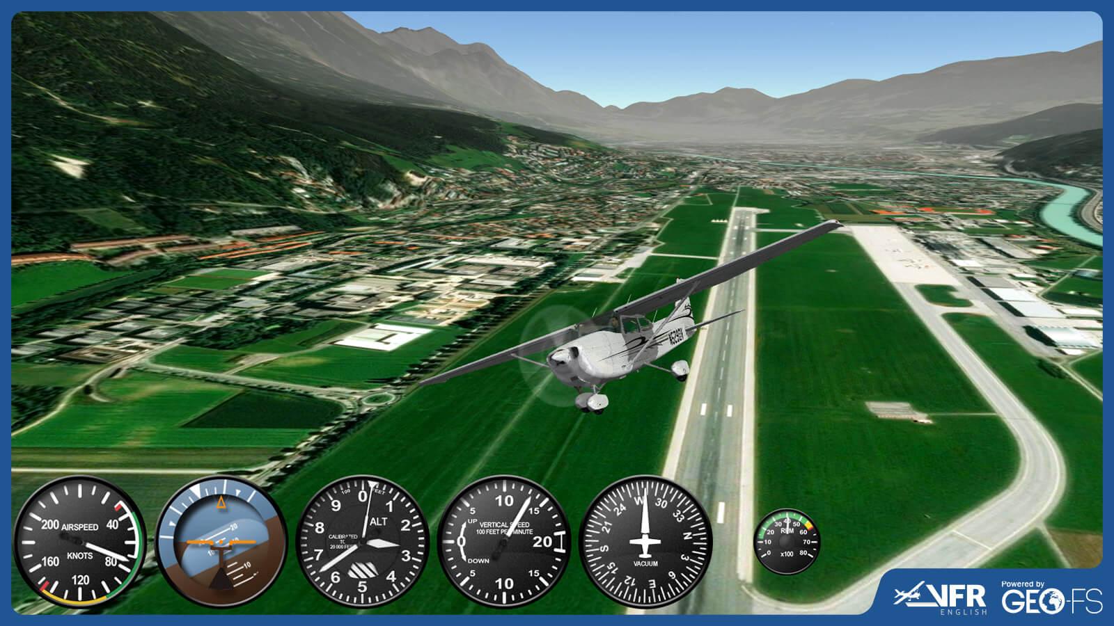 VFR English - Simulator